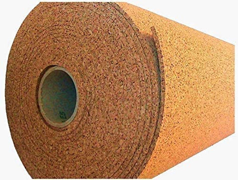 Cork Roll 1/4 Inch Thick 4' Wide (By The Foot) Roll Of Cork One Cork Roll Choose Size Bulletin Board Sheet VIZIONSTAR