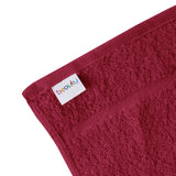 "16 x 27"" Burgundy 100% Cotton ULTRA Salon Towel"