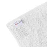 "15 x 25"" White 100% Cotton Economy Towel"
