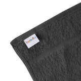 "15 x 25"" Charcoal Gray 100% Cotton Economy Towel"