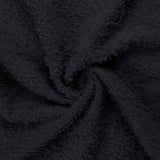 "16 x 27"" Black 100% Cotton Premium Salon Hand Towel"