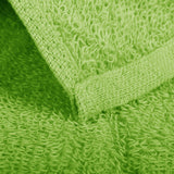 "16 x 27"" Lime Green 100% Cotton Premium Salon Towel"