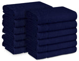 "16 x 27"" Navy Blue 100% Cotton ULTRA Salon Towel"