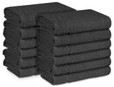 "16 x 27"" Charcoal 100% Cotton ULTRA Salon Towel"