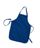 "Full Length Apron with Pockets 22""W x 30""H 12 pc pack ( 1 Dozen )"