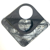 Diamond Shoulder Bag in Graphite