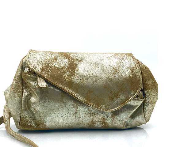 Josephine Crossbody Bag in Distressed Champagne