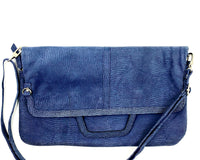 Messenger/Laptop Bag in Embossed Blue LIMITED EDITION