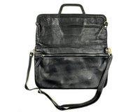 Messenger/Laptop Bag in Black