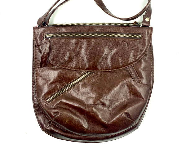 Rolita Crossbody Bag in Dark Mahogany