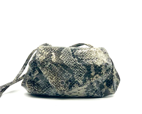 Sofia Convertible Bag in Snake Print LIMITED EDITION