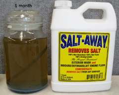 Salt Away fails as formula unable to sustain performance