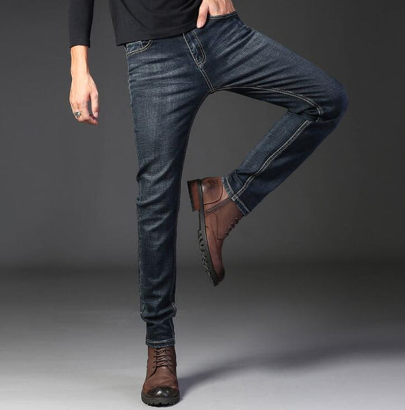2020 New Design Autumn Men Fashion Jeans On Hot Sales High Quality Long Pants For Male