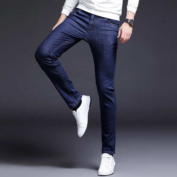 Stylish Fahsion 2019 New Design Stretch Men Jeans Good Quality Male Pants Free Shipping