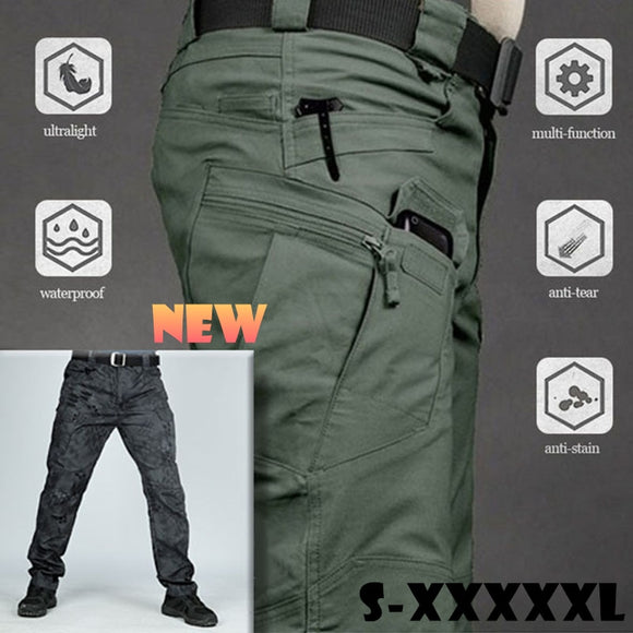 X7 City Military Urban Tactical Pants Men Spring Cotton SWAT Army Cargo Pants Casual Pockets Soldier Combat Trousers