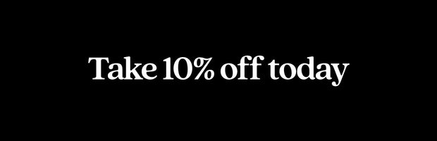 10% OFF TODAY ✌