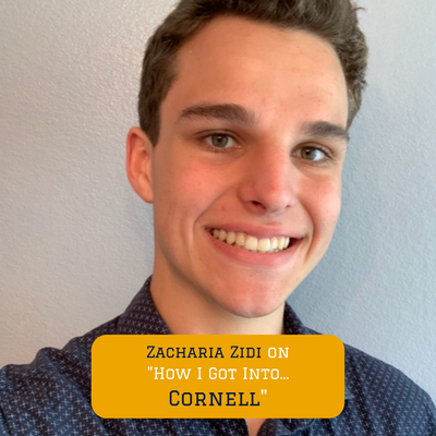 How our Program Lead Zach got into Cornell University