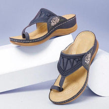 Load image into Gallery viewer, Embroidery Orthopedic Comfy Flip Flop Sandals(NOW 50% OFF)