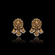 Classic Danglers Earring in yellow Gold