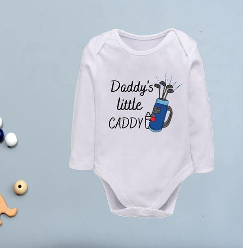 Golfing baby onesies for Boys - My Sister & i