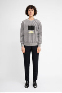 Moon Age Grey Sweatshirt