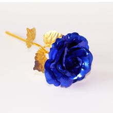 Load image into Gallery viewer, Fashion 24k Gold Foil Rose Flower LED Luminous Galaxy