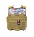 NP PMC PLATE CARRIER - TAN Nuprol