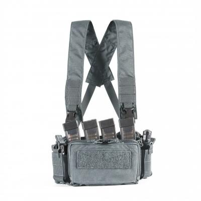 PMC MICRO A CHEST RIG - GREY  Nuprol