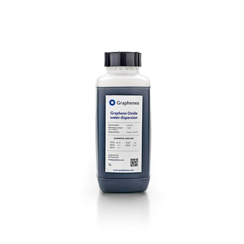 Graphene Oxide Water Dispersion 1000 ml (0.4 wt% Concentration, 4 g GO content)