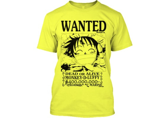 wanted tshirt