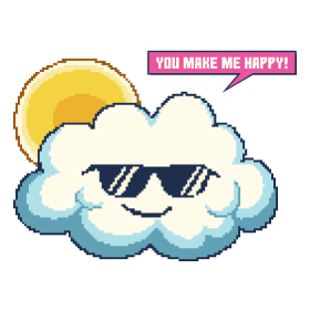 Summer Happy Cloud