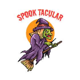 Spooktacular Witch