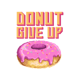 Donut Give Up