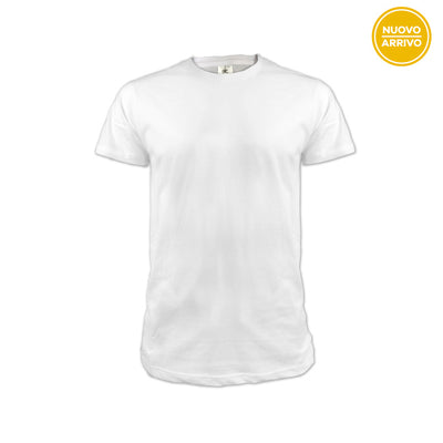 T-Shirt Uomo Basic Bianca | IdeaClub