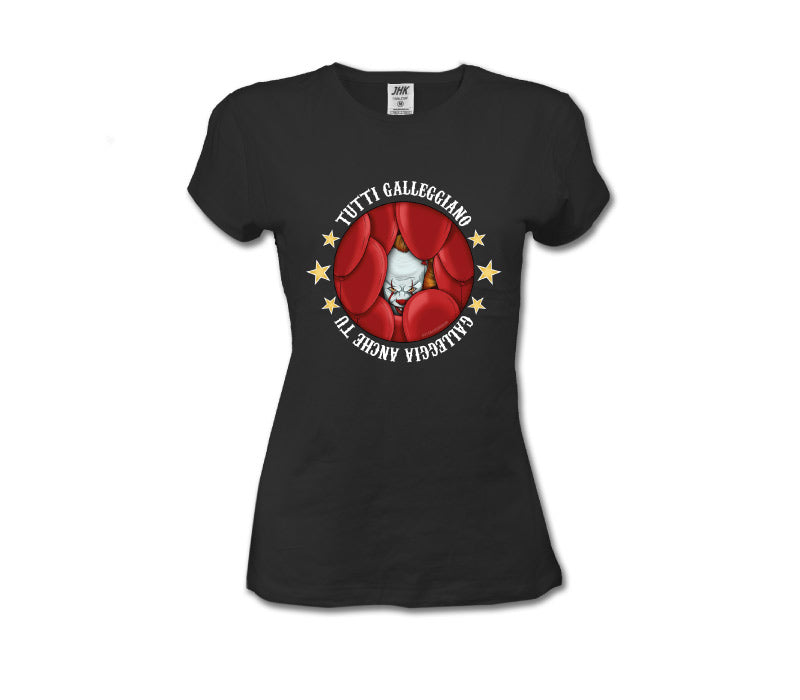 T-Shirt Pennywise Galleggiamo Donna
