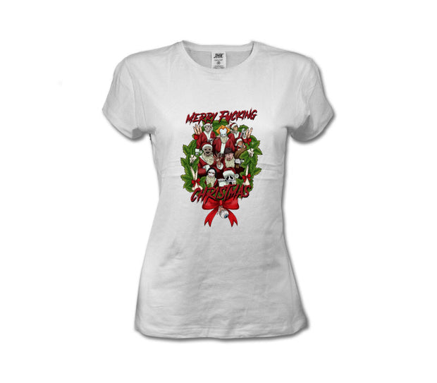 T-Shirt Merry F***ing Christmas Donna