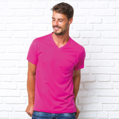 T-Shirt Uomo V-Neck