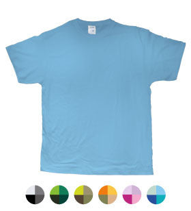 T-Shirt Uomo Colorata Pocket