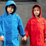Load image into Gallery viewer, Kids wearing Letter-print Raincoats