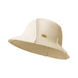 Load image into Gallery viewer, White Splicing Straw Hat