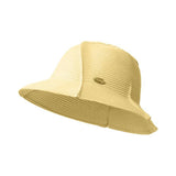 Load image into Gallery viewer, Yellow Splicing Straw Hat