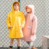 Load image into Gallery viewer, Kids wearing pink and yellow Rainproof Windcheater