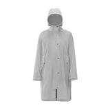 Load image into Gallery viewer, grey waterproof long coat