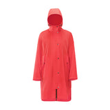 Load image into Gallery viewer, red waterproof long coat
