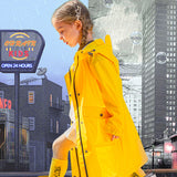 Load image into Gallery viewer, Display of Yellow Rainproof Windcheater