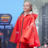Load image into Gallery viewer, Kid wearing Red False-two Rainproof Coat