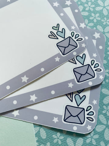 Happy Mail Address label Stickers (10 pack) #HMMS001