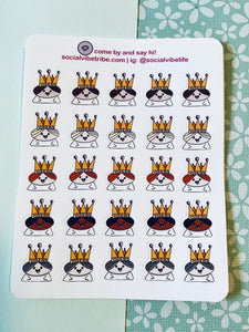 HAPPY PRINCESSES STICKER SHEET (SS066)