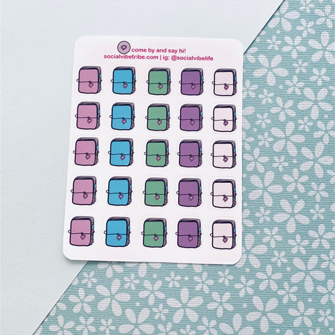 PLANNER ICON STICKERS (SS002)