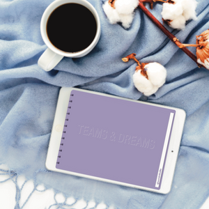DIRECT SALES DIGITAL PLANNER - LILAC AND WHITE (DP0013)